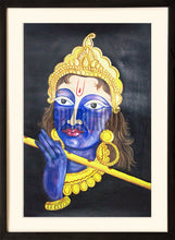 Load image into Gallery viewer, Painting of God Krishna