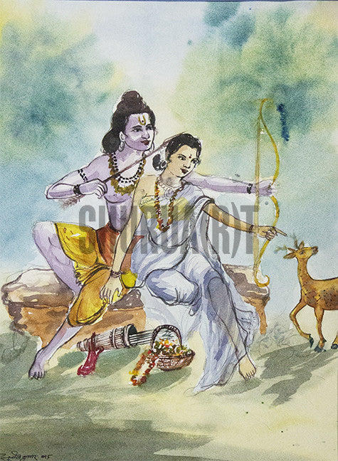 God Ram and Sita