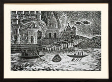 Load image into Gallery viewer, Painting of Varanasi Ghats