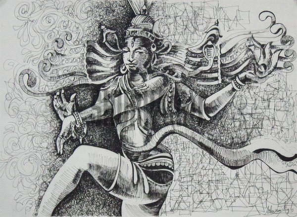 Painting of Shiva