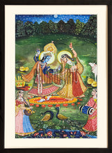 Load image into Gallery viewer, Painting of Radha and Krishna