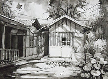Load image into Gallery viewer, Painting of a house in Sikkim