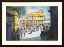 Load image into Gallery viewer, Painting of a street in Benares
