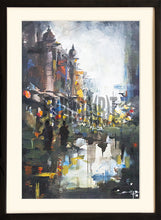 Load image into Gallery viewer, Painting of a Ghat in Benares