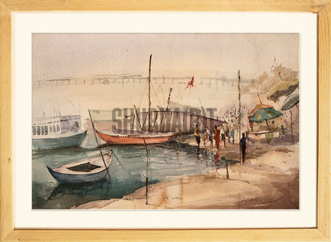 Boats in Ganges