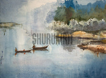 Load image into Gallery viewer, Boats in Ganges