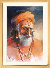 Load image into Gallery viewer, Portrait of a Sadhu
