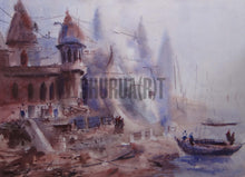 Load image into Gallery viewer, Paintings of Ghats of Varanasi