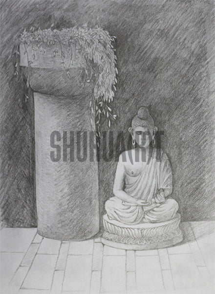 Painting of Buddha