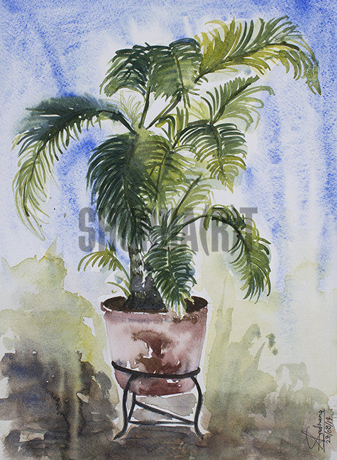 Painting of a Plant
