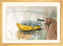 Load image into Gallery viewer, Boats in River Ganges