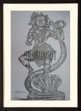 Load image into Gallery viewer, Sketch of God Krishna