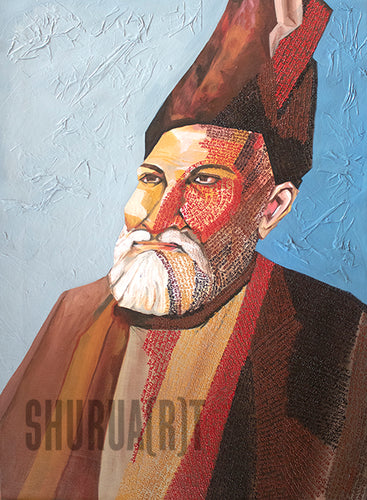 Ghalib: Original Painting