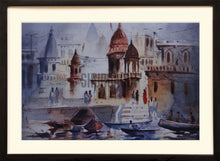 Load image into Gallery viewer, Painting of Ghats of Varanasi