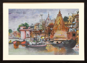 Painting of Kashi Karvat Temple