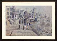 Load image into Gallery viewer, Painting of Manikarnika Ghat