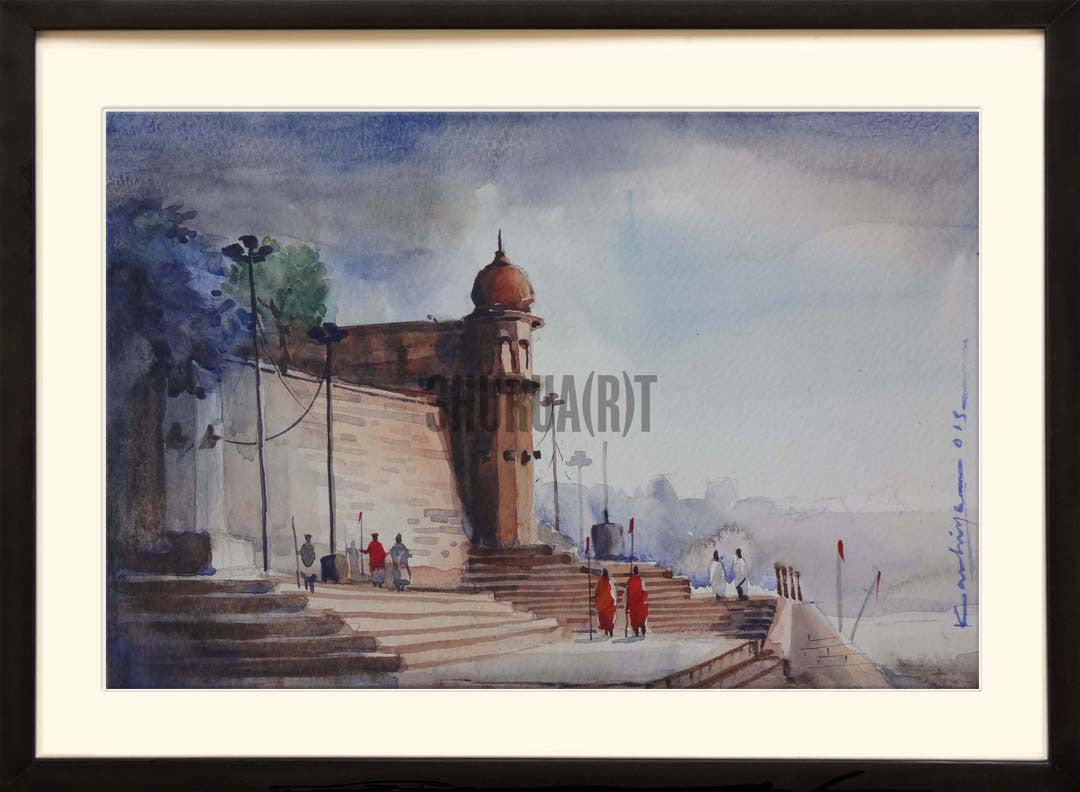Painting of Chet Singh Ghat