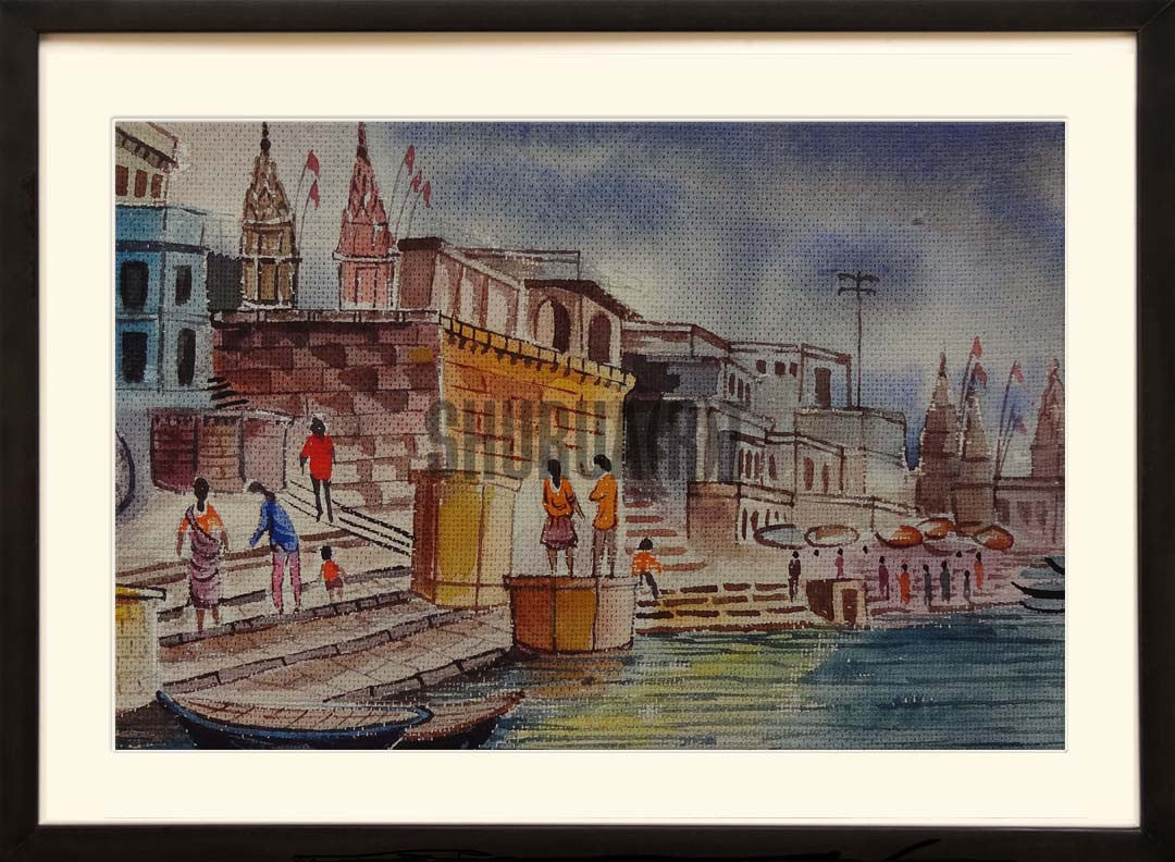 Painting of Benares Ghat