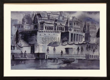 Load image into Gallery viewer, Painting of Benares Ghat