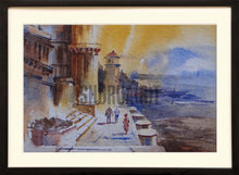 Load image into Gallery viewer, Painting of a Benares Ghat