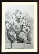 Load image into Gallery viewer, Sketch of God Ganesha