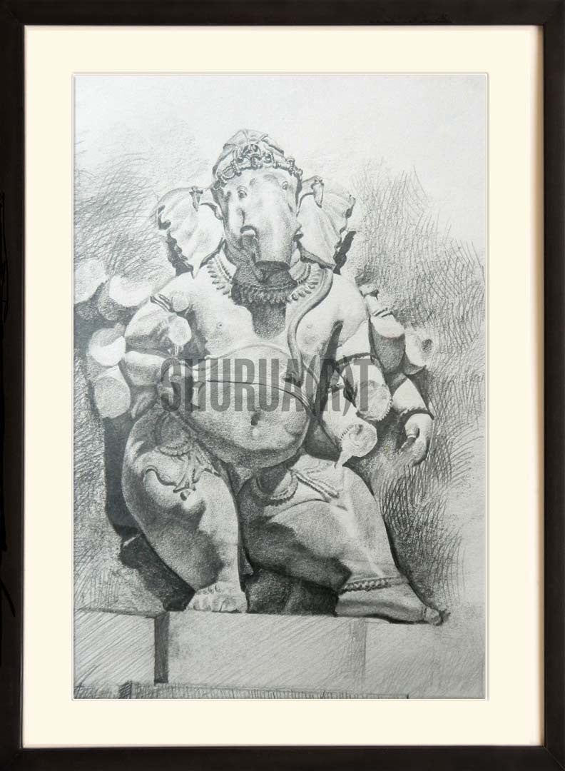 Sketch of God Ganesha