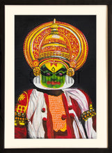 Load image into Gallery viewer, Painting of a Kathakali Dancer