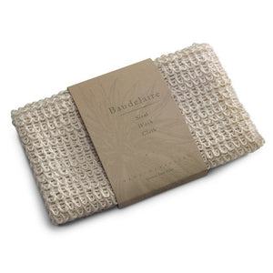 Sisal Wash Cloth - Gold Leaf