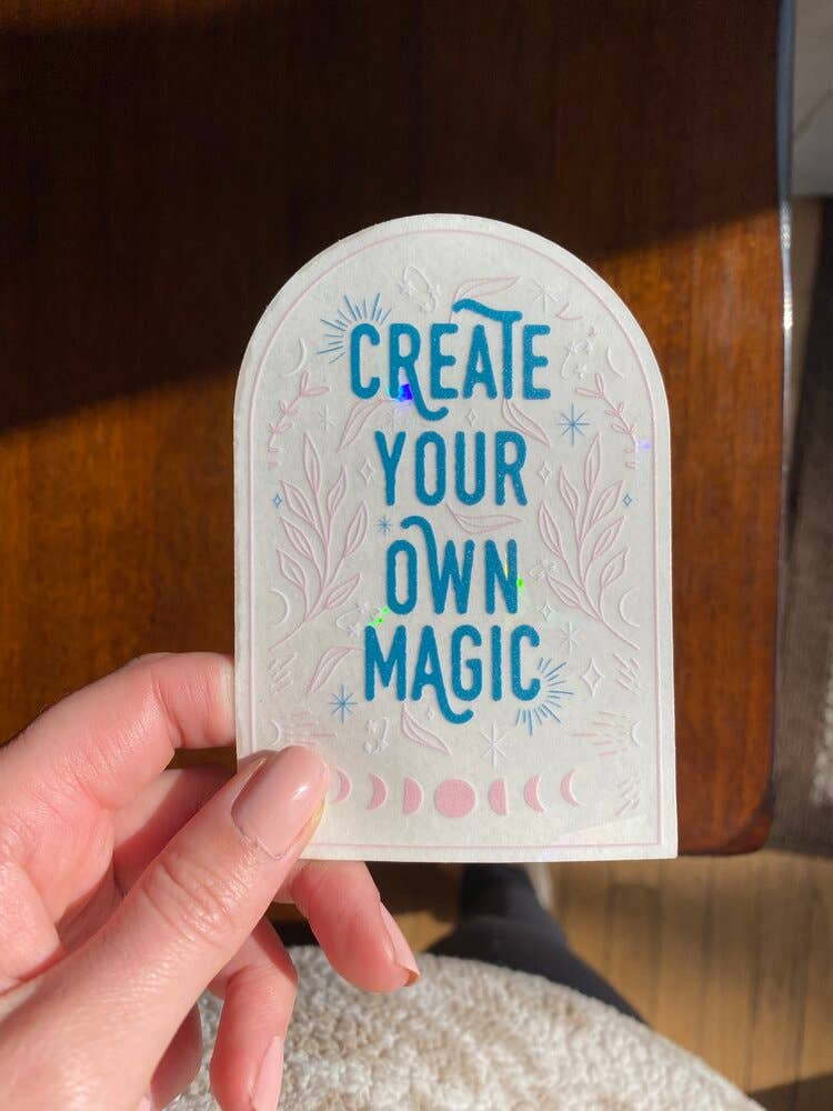 Create Your Own Magic Suncatcher Decal