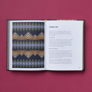 The Pendleton Field Guide to Camping - Gold Leaf