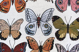 Butterflies Woven Throw Blanket