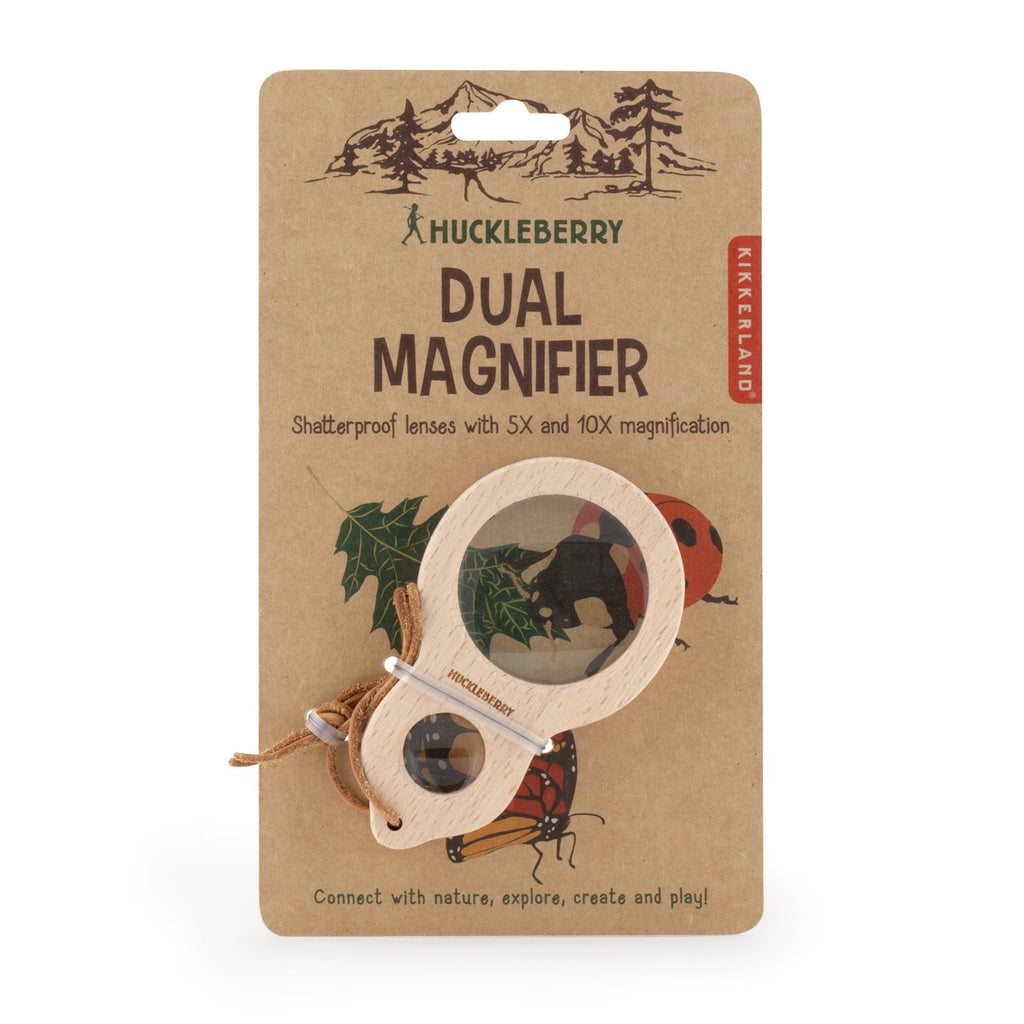 Huckleberry Magnifier - Gold Leaf
