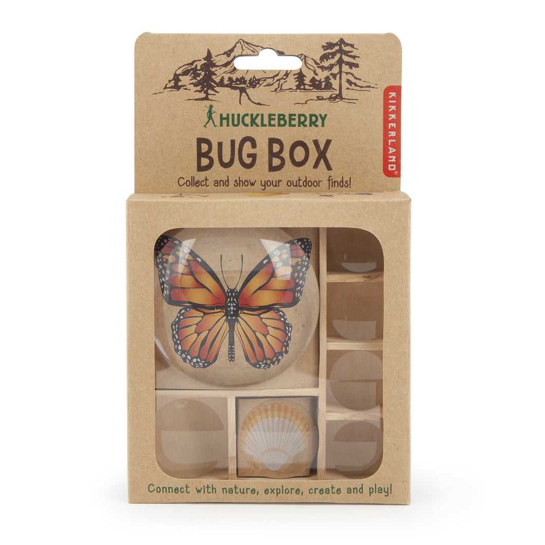 Huckleberry Bug Box - Gold Leaf