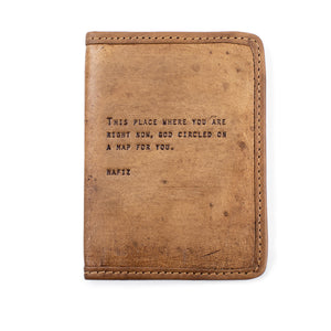 Passport Cover - Gold Leaf