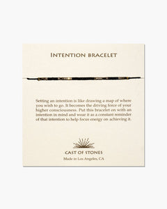 Intention Bracelets - Gold Leaf