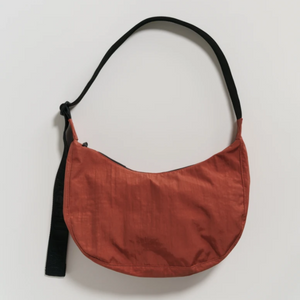 Medium Crescent Nylon Bag