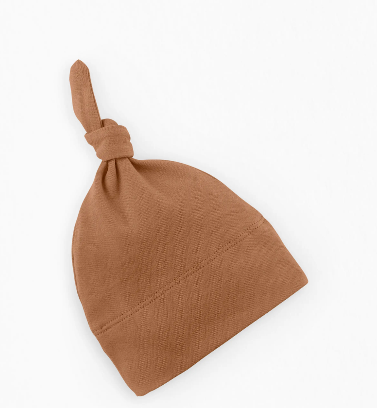 Classic Knotted Hat - Ginger