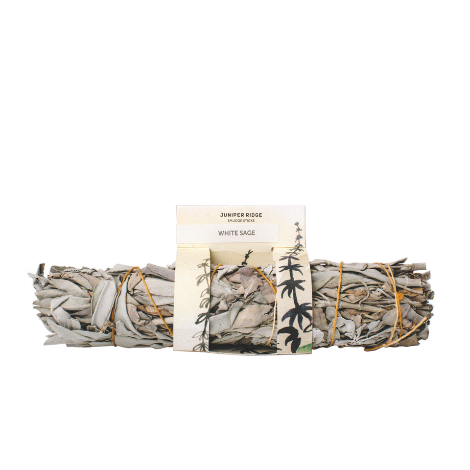 White Sage Sumdge Stick - Gold Leaf