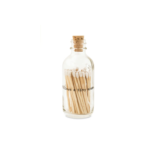 Mini Poetry Match Bottle - Gold Leaf