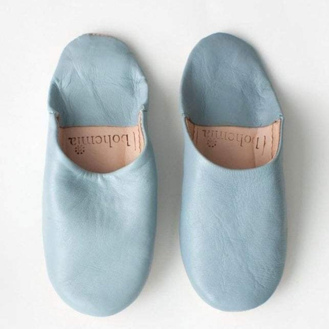 Pearl Grey Slippers