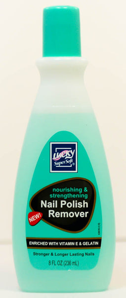 Nail Polish Remover by Lucky SuperSoft 4oz