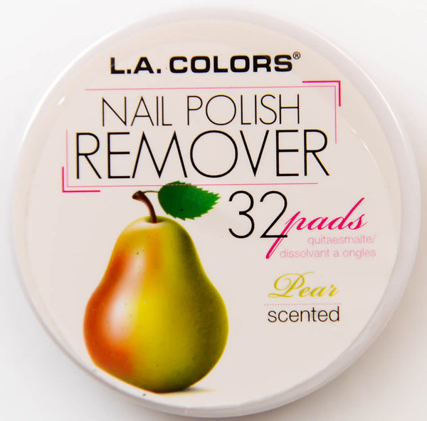 L.A. Colors Nail Polish Remover Pear Scented