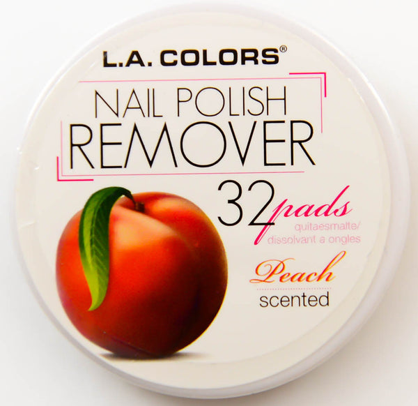 L.A. Colors Nail Polish Remover Peach Scented