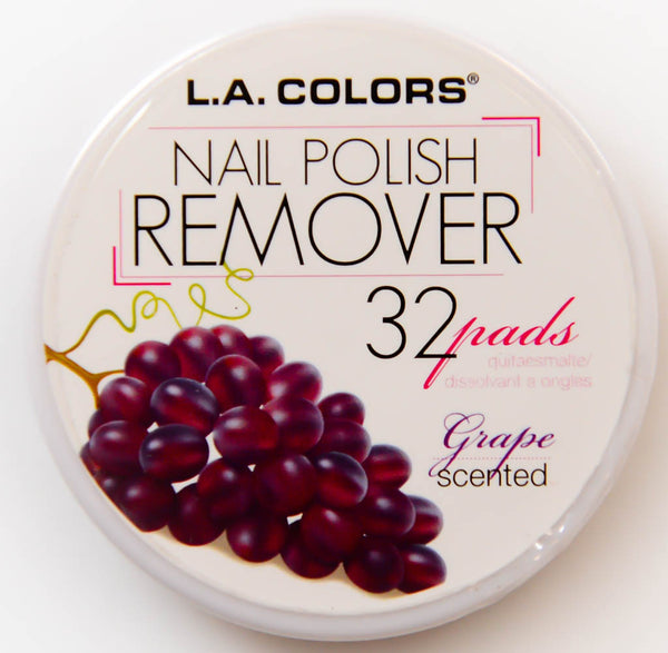 L.A. Colors Nail Polish Remover Grape Scented