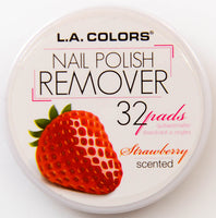 L.A. Colors Nail Polish Remover Strawberry Scented