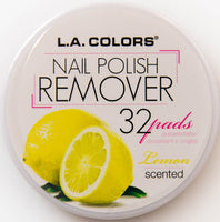 L.A. Colors Nail Polish Remover Lemon Scented