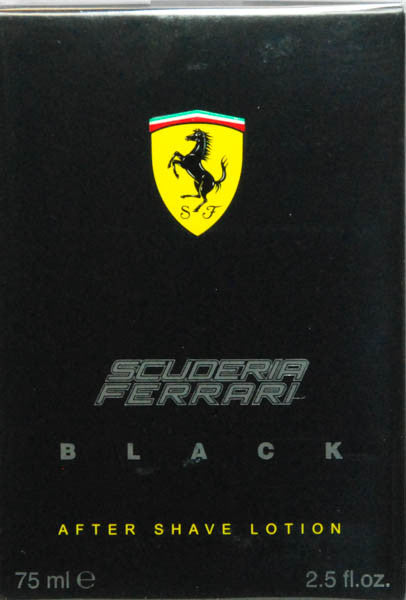 Scuderia Ferrari Black For Men