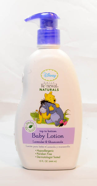 Baby Lotion Top to Bottom Disney