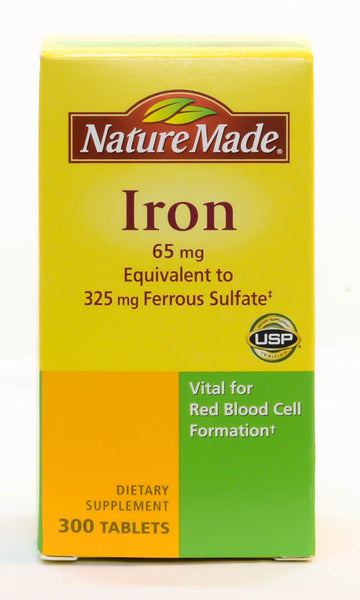Iron 65 mg by Nature Made