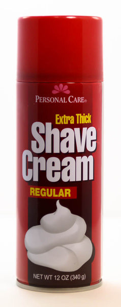 Extra Thick Shave Cream Regular by Personal Care 12oz